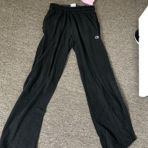 Champion Black Sweatpants Large